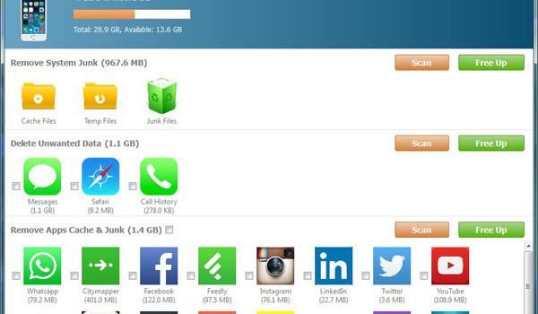 iPhone Cleaner – Liberare Spazio su iPhone