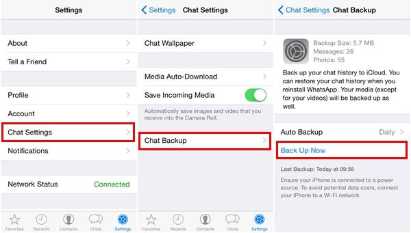 I Modi Migliori per Recuperare Chat Whatsapp su iPhone