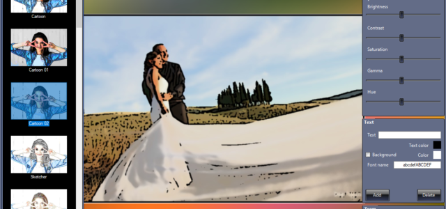 Software per Trasformare e Convertire Foto in Cartoni