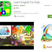 Migliori app per bambini per imparare l'Inglese